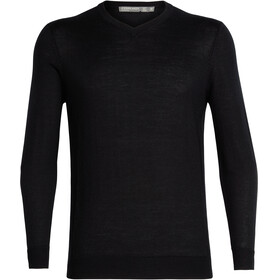 Icebreaker Quailburn V Sweater Men black